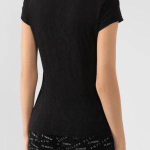 Женская футболка с жаккардовым узором от PHILIPP PLEIN