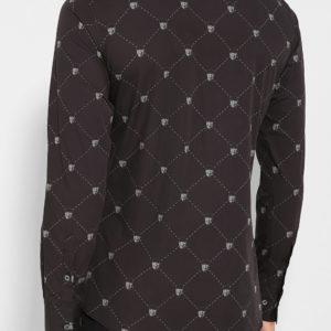 Мужская хлопковая сорочка с паттерном от PHILIPP PLEIN