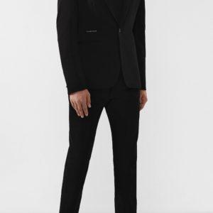 Мужской пиджак из вискозы угольно-черный от PHILIPP PLEIN
