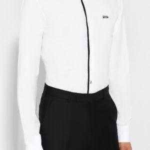 Мужская хлопковая сорочка белая от PHILIPP PLEIN