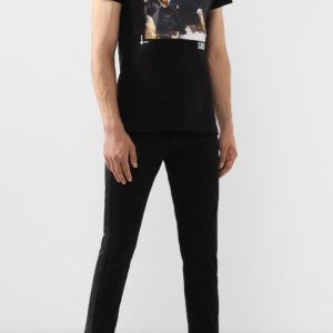 Мужская футболка хлопковая черная от PHILIPP PLEIN