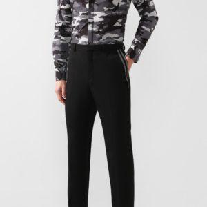 Мужская хлопковая рубашка с камуфляжным принтом от PHILIPP PLEIN