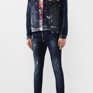 Мужская джинсовая куртка от PHILIPP PLEIN