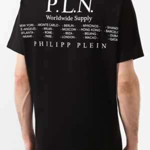 Мужская хлопковая футболка от PHILIPP PLEIN