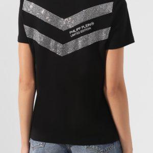 Женская хлопковая футболка с принтом Аль Пачино от PHILIPP PLEIN