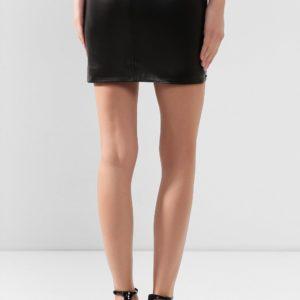 Женская кожаная юбка от PHILIPP PLEIN