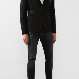 Мужской пиджаки из вискозы черный от PHILIPP PLEIN