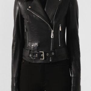 Женская кожаная куртка от PHILIPP PLEIN